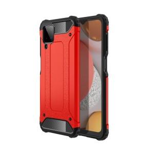 Θήκη Samsung Galaxy A12 OEM Armor Guard Hybrid Πλάτη από σκληρό πλαστικό και TPU κόκκινο