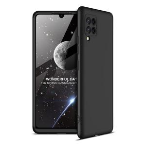 Θήκη GKK Full body Protection 360° από σκληρό πλαστικό για Samsung Galaxy A42 μαύρο