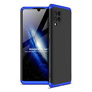 Θήκη GKK Full body Protection 360° από σκληρό πλαστικό για Samsung Galaxy A42 μαύρο / μπλε