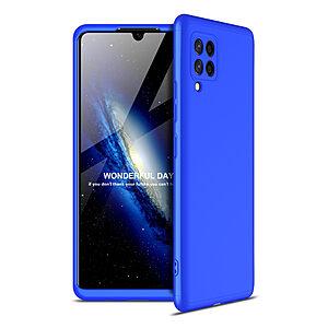 Θήκη GKK Full body Protection 360° από σκληρό πλαστικό για Samsung Galaxy A42 μπλε