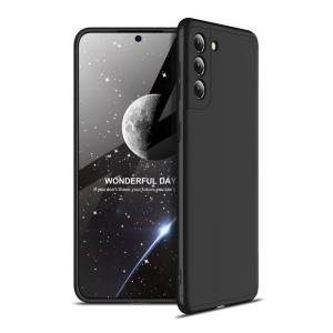 Θήκη GKK Full body Protection 360° από σκληρό πλαστικό για Samsung Galaxy S21 μαύρο