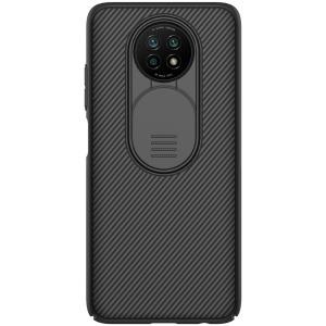 Θήκη Xiaomi Redmi Note 9T NiLLkin Camshield Series Πλάτη με προστασία για την κάμερα από σκλήρό Premium TPU μαύρο