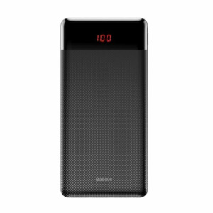 Baseus Mini Cu Power Bank 10000 mAh 2x USB 2.1A μαύρο (PPALL-AKU01)