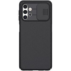 Θήκη Samsung Galaxy A32 5G NiLLkin Camshield Series Πλάτη με προστασία για την κάμερα από σκλήρό Premium TPU μαύρο