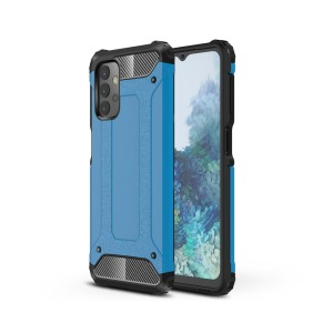 Θήκη Samsung Galaxy A32 5G OEM Armor Guard Hybrid Πλάτη από σκληρό πλαστικό και TPU μπλε
