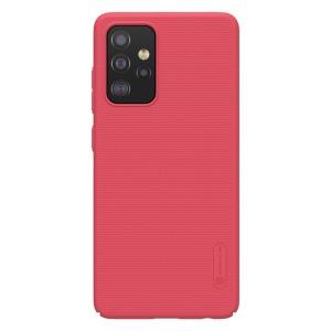 Θήκη Samsung Galaxy A52 4G / 5G NiLLkin Super Frosted Shield Series Πλάτη από Premium σκληρό πλαστικό κόκκινο