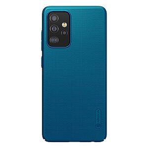Θήκη Samsung Galaxy A52 4G / 5G NiLLkin Super Frosted Shield Series Πλάτη από Premium σκληρό πλαστικό μπλε