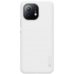 Θήκη Xiaomi Mi 11 NiLLkin Super Frosted Shield Series Πλάτη από Premium σκληρό πλαστικό λευκό