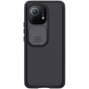 Θήκη Xiaomi Mi 11 NiLLkin Camshield Series Πλάτη με προστασία για την κάμερα από σκλήρό Premium TPU μαύρο