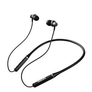 LENOVO-QE03 Bluetooth ακουστικά Neckband Earphones - μαύρο