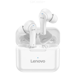Lenovo QT82 True Wireless Ασύρματα Ακουστικά TWS - λευκό