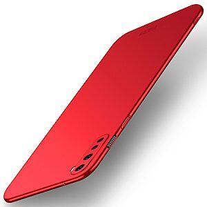 Θήκη Oneplus Nord MOFI Shield Slim Series Πλάτη από σκληρό πλαστικό κόκκινο