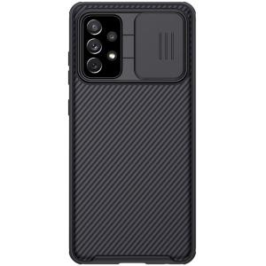 Θήκη Samsung Galaxy A72 4G / 5G NiLLkin Camshield Series Πλάτη με προστασία για την κάμερα από σκλήρό Premium TPU μαύρο