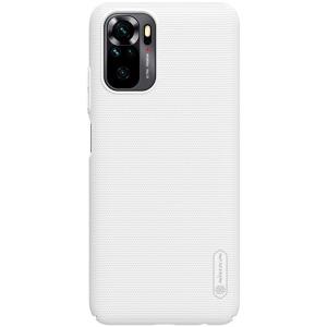 Θήκη Xiaomi Redmi Note 10 NiLLkin Super Frosted Shield Series Πλάτη από Premium σκληρό πλαστικό λευκό