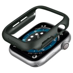 Spigen Thin Fit προστατευτική θήκη για Apple Watch 6/ 5/ 4/ SE (44mm) πράσινο