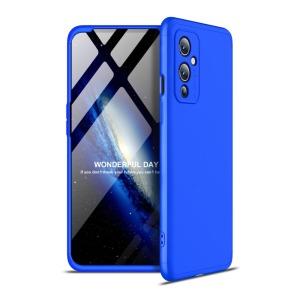 Θήκη GKK Full body Protection 360° από σκληρό πλαστικό για OnePlus 9 μπλε