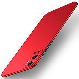 Θήκη OnePlus 9 Pro MOFI Shield Slim Series Πλάτη από σκληρό πλαστικό κόκκινο
