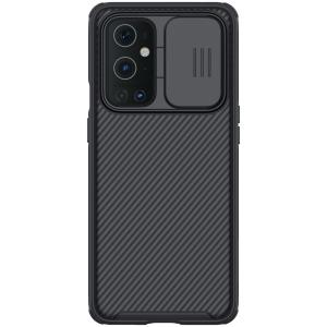 Θήκη OnePlus 9 Pro NiLLkin Camshield Series Πλάτη με προστασία για την κάμερα από σκλήρό Premium TPU μαύρο