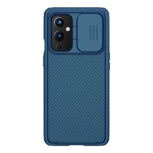 Θήκη OnePlus 9 NiLLkin Camshield Series Πλάτη με προστασία για την κάμερα από σκλήρό Premium TPU μπλε