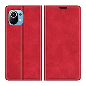 Θήκη Xiaomi Mi 11 Lite 4G / 5G OEM Leather Wallet Case V2 με βάση στήριξης