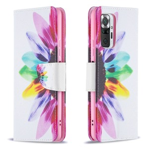 Θήκη Xiaomi Redmi Note 10 Pro OEM Colorful Petals με βάση στήριξης