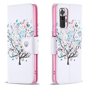 Θήκη Xiaomi Redmi Note 10 Pro OEM Flowered Tree με βάση στήριξης