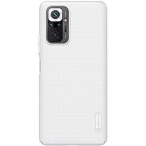 Θήκη Xiaomi Redmi Note 10 Pro NiLLkin Super Frosted Shield Series Πλάτη από Premium σκληρό πλαστικό λευκό