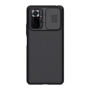 Θήκη Xiaomi Redmi Note 10 Pro NiLLkin Camshield Series Πλάτη με προστασία για την κάμερα από σκλήρό Premium TPU μαύρο