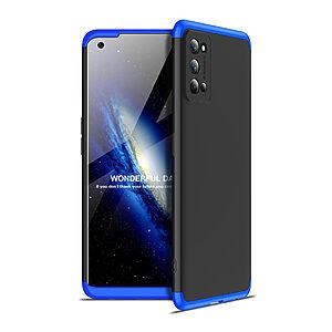Θήκη GKK Full body Protection 360° από σκληρό πλαστικό για Realme 7 Pro μαύρο / μπλε