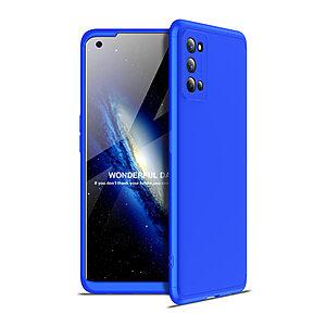 Θήκη GKK Full body Protection 360° από σκληρό πλαστικό για Realme 7 Pro μπλε