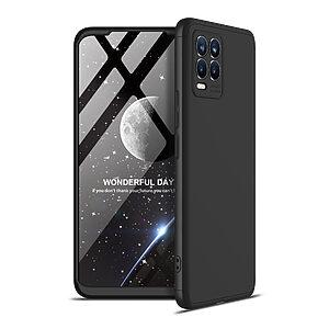 Θήκη GKK Full body Protection 360° από σκληρό πλαστικό για Realme 8 / 8 Pro μαύρο