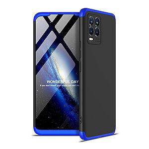 Θήκη GKK Full body Protection 360° από σκληρό πλαστικό για Realme 8 / 8 Pro μαύρο / μπλε