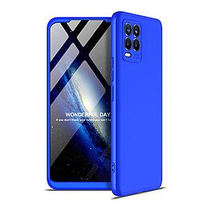 Θήκη GKK Full body Protection 360° από σκληρό πλαστικό για Realme 8 / 8 Pro μπλε
