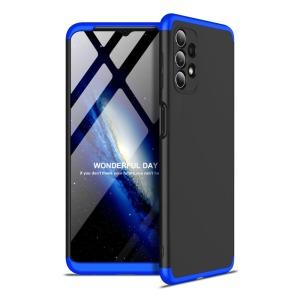 Θήκη GKK Full body Protection 360° από σκληρό πλαστικό για Samsung Galaxy A32 5G μαύρο / μπλε