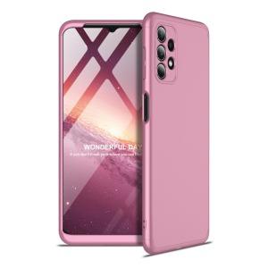 Θήκη GKK Full body Protection 360° από σκληρό πλαστικό για Samsung Galaxy A32 5G ροζ χρυσό