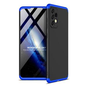 Θήκη GKK Full body Protection 360° από σκληρό πλαστικό για Samsung Galaxy A52 4G / 5G μαύρο / μπλε