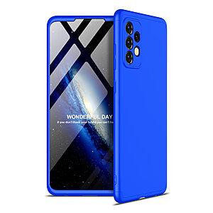 Θήκη GKK Full body Protection 360° από σκληρό πλαστικό για Samsung Galaxy A52 4G / 5G μπλε