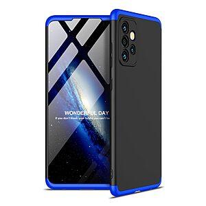 Θήκη GKK Full body Protection 360° από σκληρό πλαστικό για Samsung Galaxy A72 4G / 5G μαύρο / μπλε