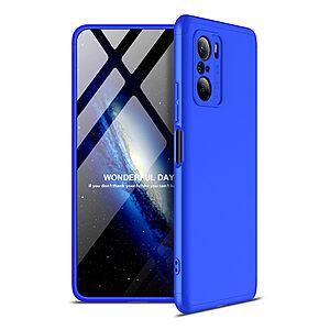Θήκη GKK Full body Protection 360° από σκληρό πλαστικό για Xiaomi Poco F3 / Mi 11i μπλε
