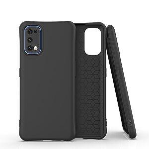Θήκη Realme 7 Pro OEM Matte Premium Πλάτη με ημίσκληρο TPU μαύρο