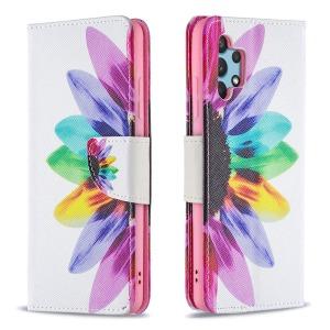 Θήκη Samsung Galaxy A32 4G OEM Colorful Petals με βάση στήριξης