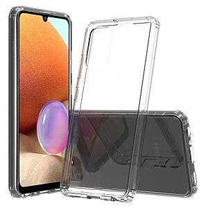 Θήκη Samsung Galaxy A32 4G OEM Silicone Sockproof Transparent Πλάτη TPU διάφανη