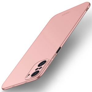 Θήκη Xiaomi Poco F3 / Mi 11i MOFI Shield Slim Series Πλάτη από σκληρό πλαστικό ροζ χρυσό