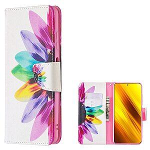Θήκη Xiaomi Poco X3 NFC / X3 Pro OEM Colorful Petals με βάση στήριξης