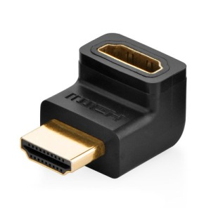 Μετατροπέας Ugreen HDMI adapter με ανηφορική γωνία up angle (20109) μαύρο