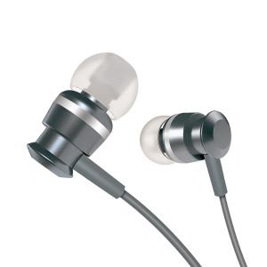 Ακουστικά in-ear JOYROOM metal3.5mm mini jack με remote control και μικρόφωνο (JR-EL122) γκρι