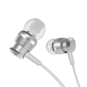 Ακουστικά In Ear JOYROOM metal 3.5mm mini jack με remote και μικρόφωνο (JR-EL122) ασημί