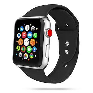 Λουρί Tech-Protect IconBand για Apple Watch 2/ 3/ 4/ 5/ 6/ SE (42/44mm) μαύρο
