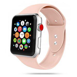 Λουρί Tech-Protect IconBand για Apple Watch 2/ 3/ 4/ 5/ 6/ SE (42/44mm) Ροζ