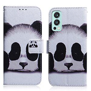 Θήκη OnePlus Nord 2 5G OEM Cute Panda με βάση στήριξης